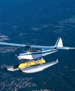 float plane canoe