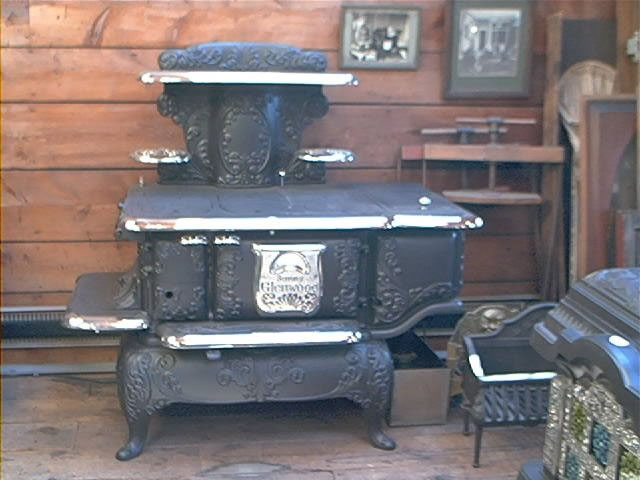 Antique Wood Burning Cook Stove WB Designs - Antique Wood Burning Cook Stove WB Designs